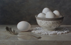 Silver Spoon and Eggs