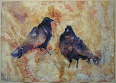 Untitled (Two Crows)