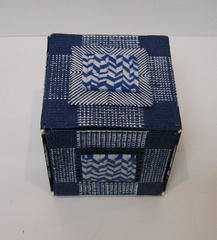 Woven Box with Herringbone