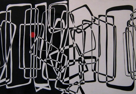 Primary Maze (diptych)