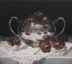 Susan Paterson - Sugerbowl and Cherries