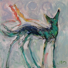 Craig Rubadoux - Green Maned Wolf