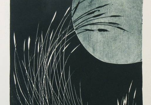 Grass and Moon #3