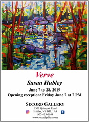 Verve: New works by Susan Hubley